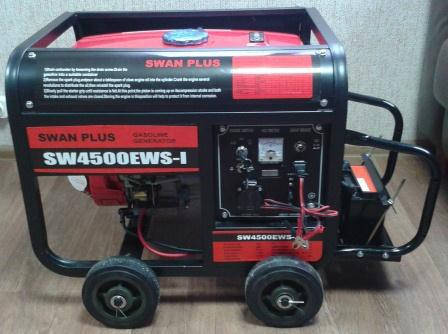 Генератор Swan Plus SW4500EWS-I, фото 2