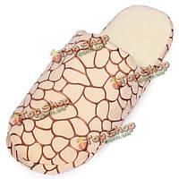 Зима теплая хлопка каменные зерна домашняя обувь крытый мягкие тапочки