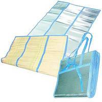 Набор ковриков для пляжа с фольгой ( подстилка) .Размер: 170х180см. (2 коврика 170х90 см)