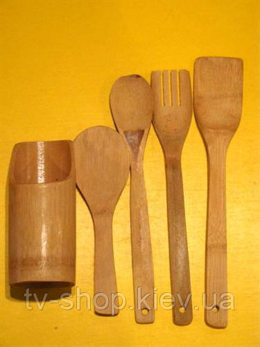 Набор кухонных принадлежностей (бамбук)