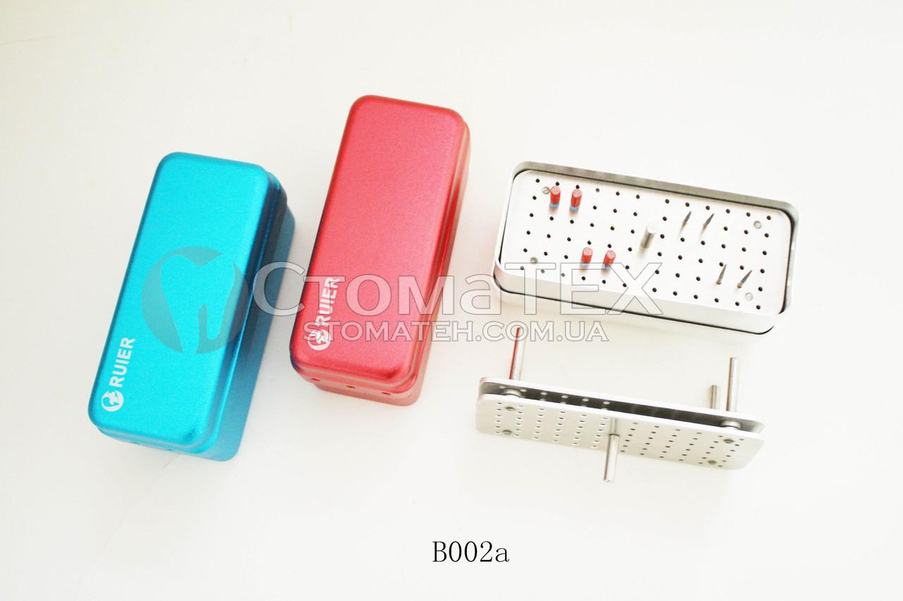 Контейнер для боров B002a, 72 отверстия (синий)