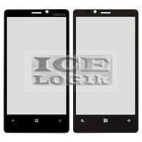 Стекло корпуса для мобильного телефона Nokia 920 Lumia, черное