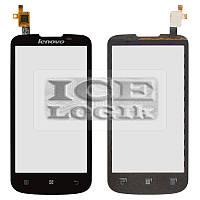 Сенсорный экран для мобильного телефона Lenovo A800, черный