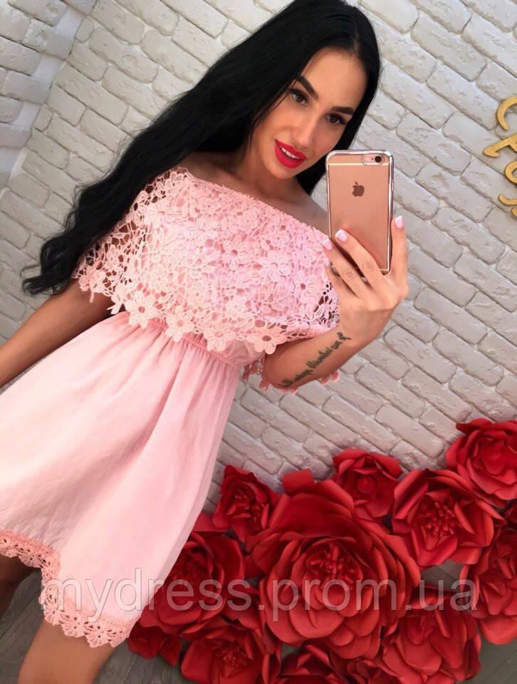 af7fe37a3be Сарафан коттон с открытыми плечами - MY DRESS SHOP стильная одежда от лучших  производителей в Харькове