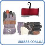 Перчатка кожи и ткани 26,5 см 120 пар/ящ SP-0004W Intertool цена за ящик