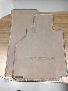 Коврики велюровые серые Porsche Boxter 986 1996-05 новые оригинал