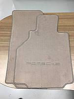 Коврики велюровые серые Porsche Boxster 986 1996-05 новые оригинал