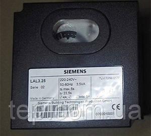 Блок управления Siemens LAL 3.25