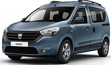 Кенгурятники на Renault Dokker (c 2012--)
