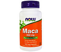 Витамины NOW Foods Maca 500 mg 100 капсул