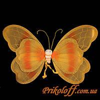 Крылья Бабочки Золотые