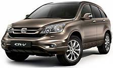 Кенгурятники на Honda CRV (2006-2012)