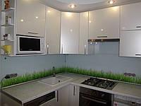 """Кухня """"Трава"""" глянец"""