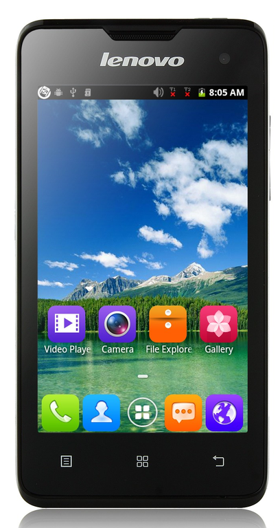 Lenovo A396 экран 4.0 ,4 ядра, 2sim, Android 4.2, камера 2.0Мp, black