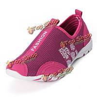 Проветрите случайные ходовые бездельники скольжения на теннисных кроссовок обувь