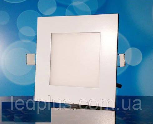 Встраиваемый светодиодный светильник 220В 6Вт БЕЛЫЙ PL-S6
