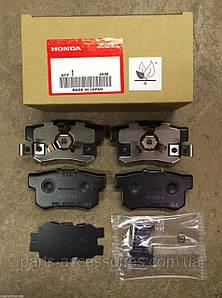 Задние тормозные колодки Honda CR-V CRV 2005-12 новые оригинал