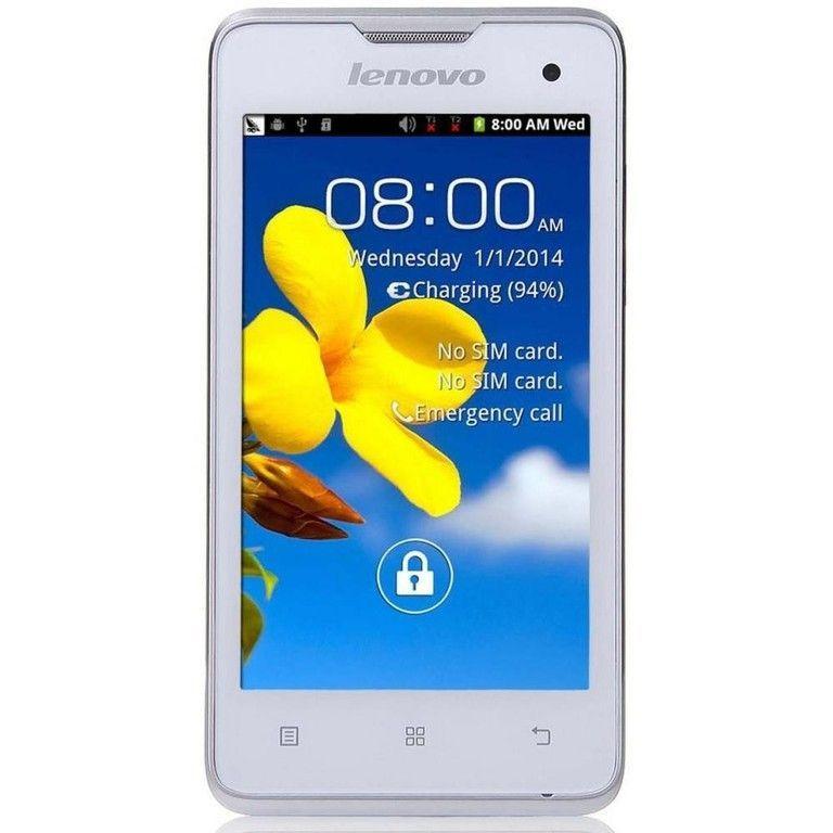 Lenovo A396 экран 4.0 ,4 ядра, 2sim, Android 4.2, камера 2.0Мp, white
