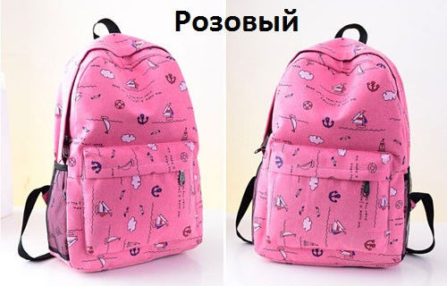Молодежный рюкзак для школы