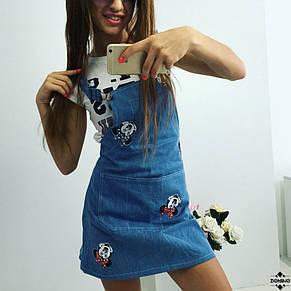 Платье Микки с накатом , фото 2