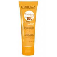 Солнцезащитный тональный золотистый крем Bioderma Photoderm Max Tinted Cream SPF 100, 40 мл