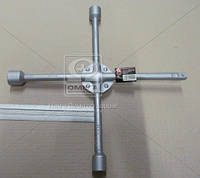 Ключ баллонный крестовой усиленный 17х19х21мм ДК