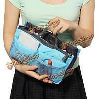 Женщины Туристические сумки Косметические сумки туалетные сумки портативный многофункциональный мешки для хранения