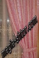 """Портьерная ткань """"розовая ветка"""", фото 1"""