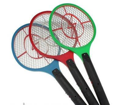 Электрическая мухобойка в виде ракетки на аккумуляторе Bug Catcher, фото 2
