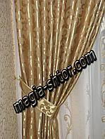 """Портьерная ткань """"золотая ветка"""", фото 1"""