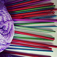 Крючок для вязания алюминиевый 3,5 мм, фото 1