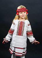 Вишиванка на дівчинку 0135
