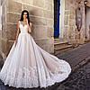 Свадебное платье цвет розовая  пудра