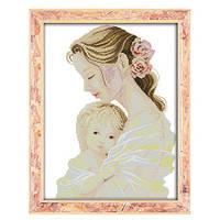 Материнская любовь Набор для вышивки крестом  канва 14 ст