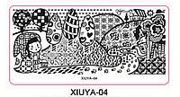 Пластина для стемпинга XIUYA-04