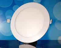 Встраиваемый светодиодный светильник 220В 18Вт БЕЛЫЙ ТЕПЛЫЙ PL-R18