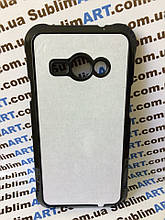 Чехол для 2D сублимации пластиковый на Samsung Galaxy j1 ACE (j110)  черный