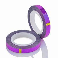 Лента самоклеящаяся фигурная фиолетовая