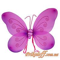 Крылышки Бабочки, большие малиновые