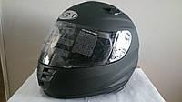 Мото Шлем интеграл  VR-1 черный матовый