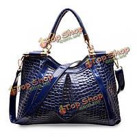 Женская элегантная сумка из крокодиловой кожи