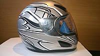 Шлем Musstang интеграл серый металик