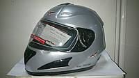 Шлем CAN интеграл серебристый металик