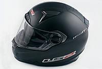 Шлем LS-2 FF385 интеграл с очками черный матовый