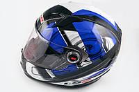Шлем интеграл LS-2 FF358 черно-синий