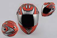 Шлем Beon интеграл BLADE красный матовый