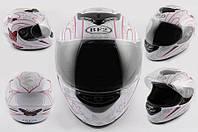 Шлем BF2 интеграл Butterfly белый