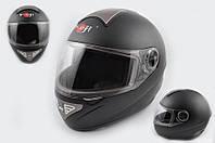 Шлем KOJI 550 premium интеграл черный матовый
