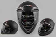 Шлем интеграл LS-2 FF375 с очками черный матовый