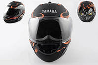 Шлем YAMAHA интеграл HAWK черный матовый